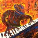 piano peinture