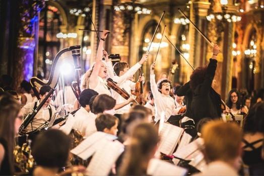 L'orchestre en concert